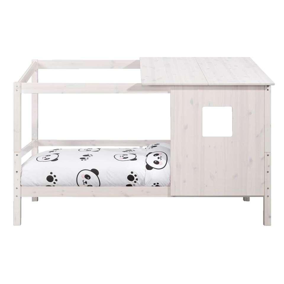 Bed Ties (incl. opzetdak) – whitewash – 90×200 cm – Leen Bakker