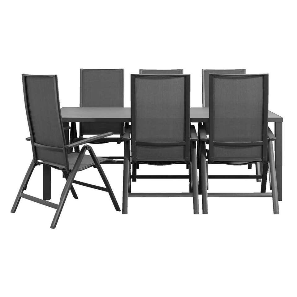 Wicker Eettafel Set Met 8 Stoelen En 4 Krukken Zwart.Tuinset Kopen Bekijk Nu Het Tuinset Aanbod Van Leen Bakker
