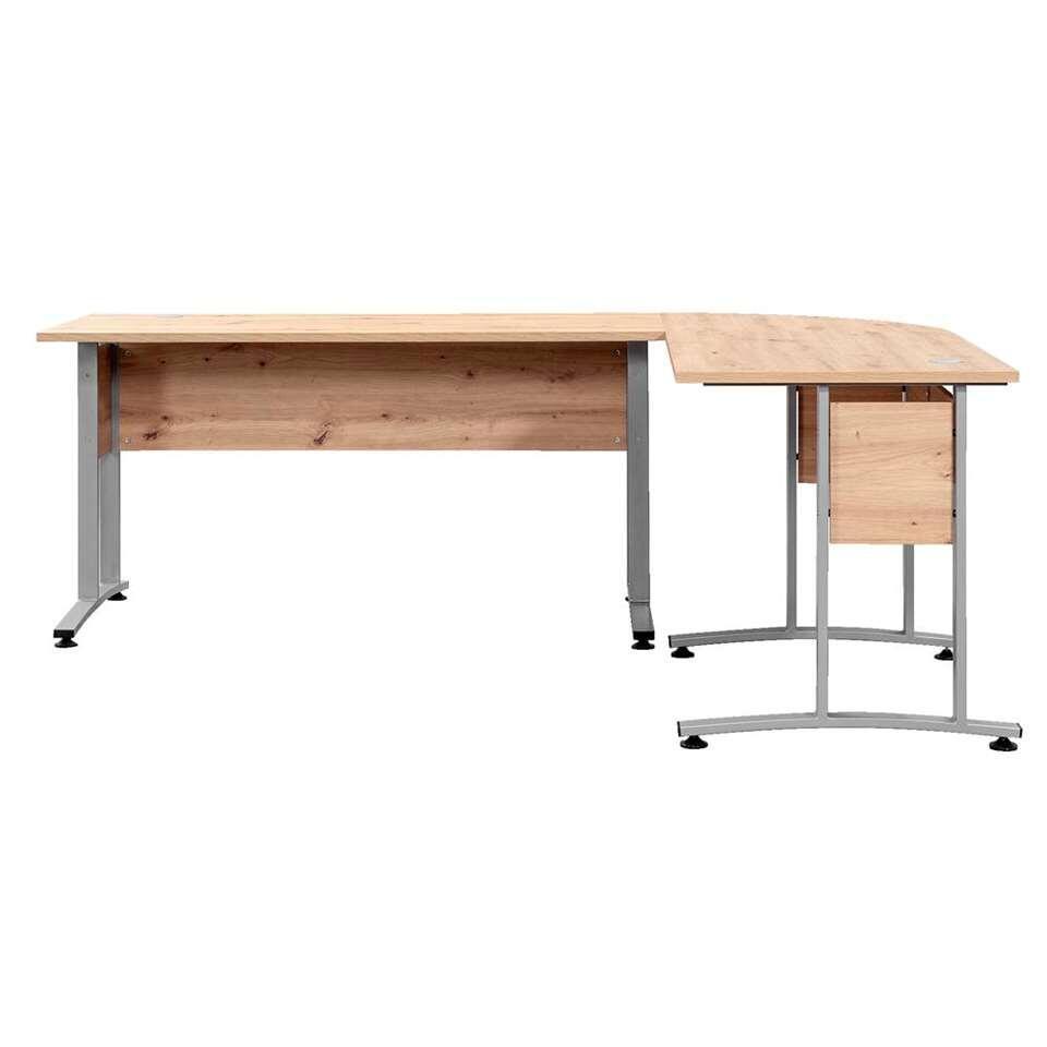 Bureau Belmont - eikenkleur - 150x150x67 cm